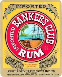 Banker's Club Rum White 750ml - Case of 12
